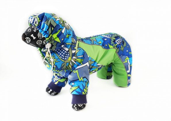 Dog winter overall - Dog Full Body Suit with Removable ...